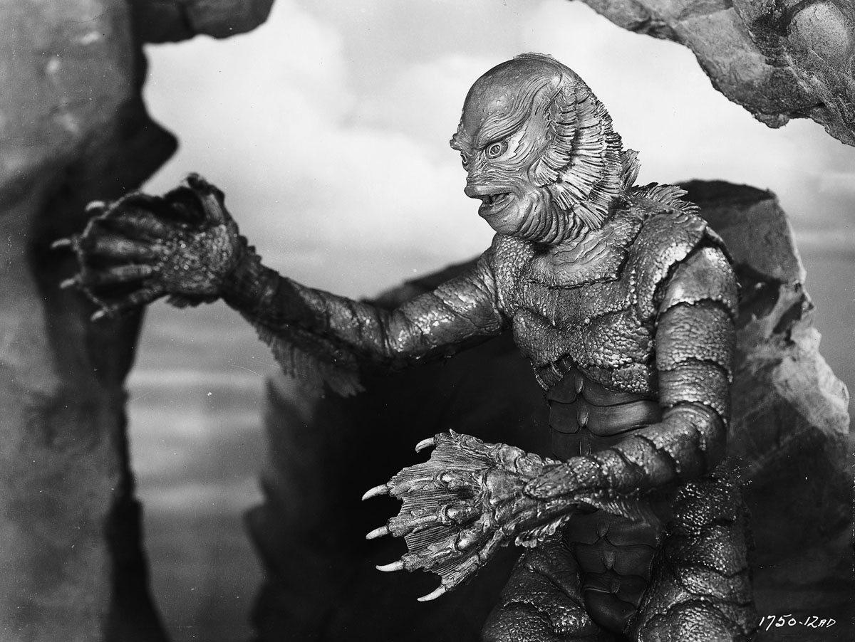 Creature from the black lagoon movie page dvd blu ray for Creature from the black lagoon coloring pages