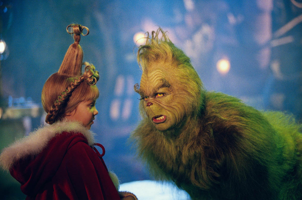 Dr Seuss How The Grinch Stole Christmas Movie Page DVD Blu