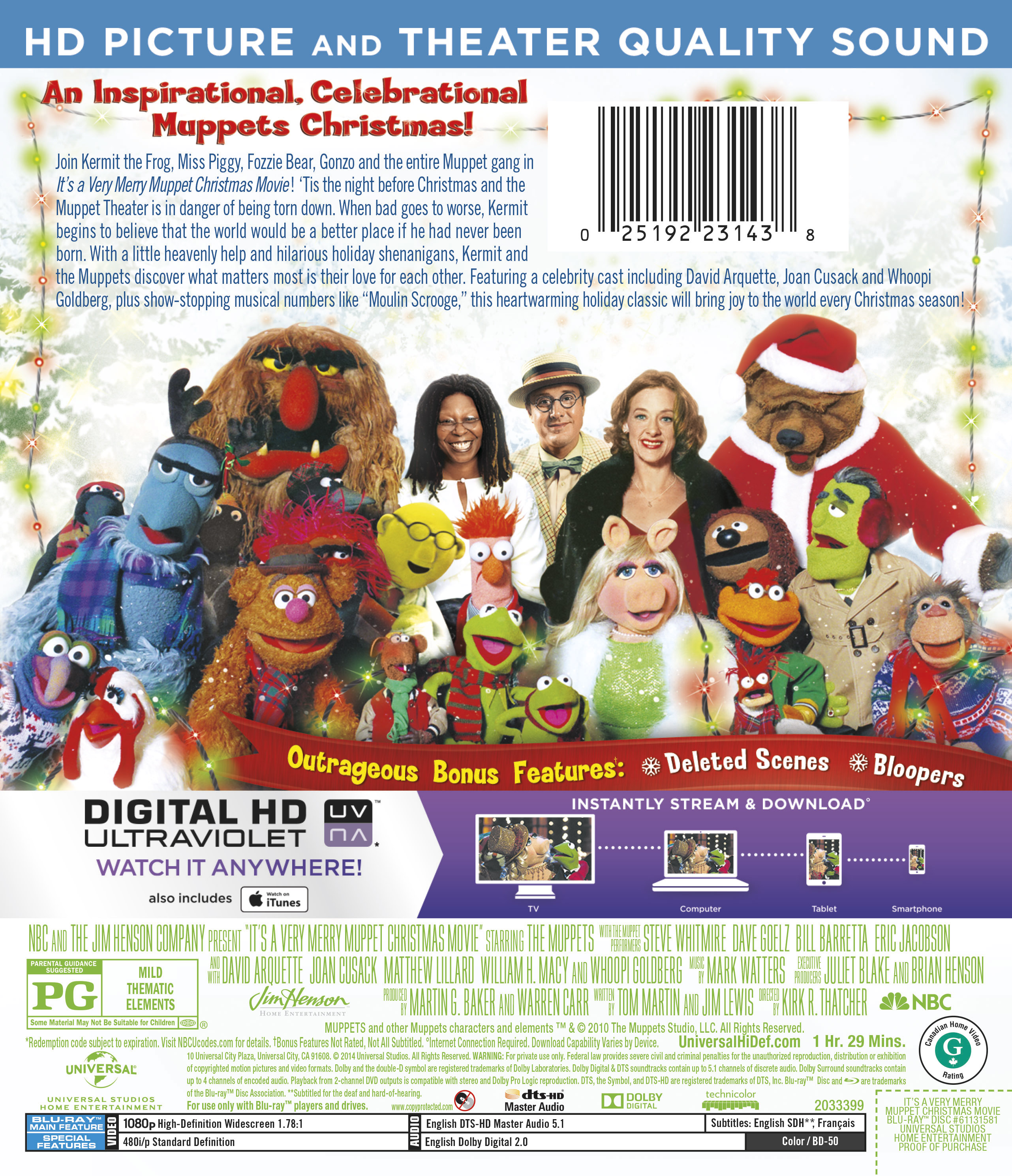It's a Very Merry Muppet Christmas Movie | TV Show Page | DVD, Blu ...