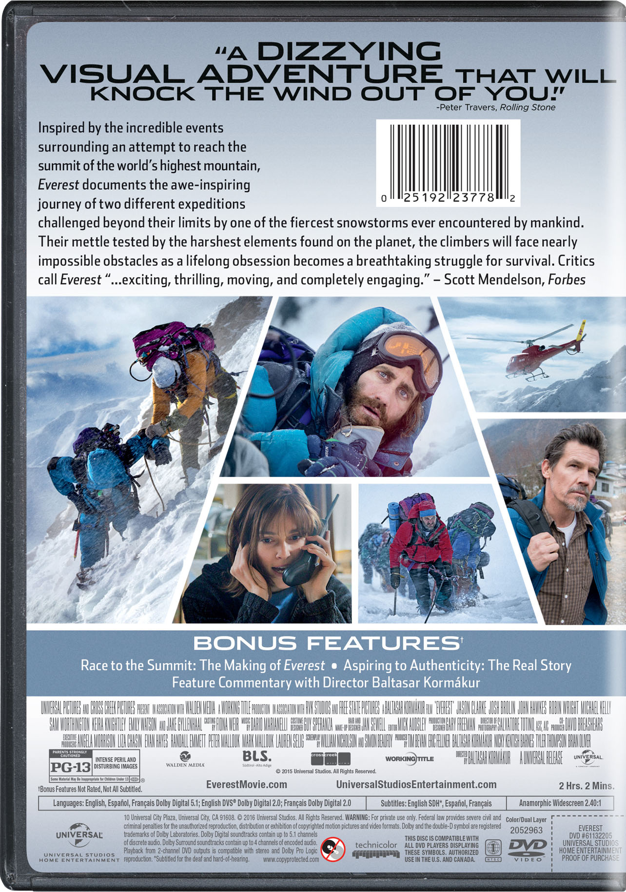 everest movie page dvd bluray digital hd on demand