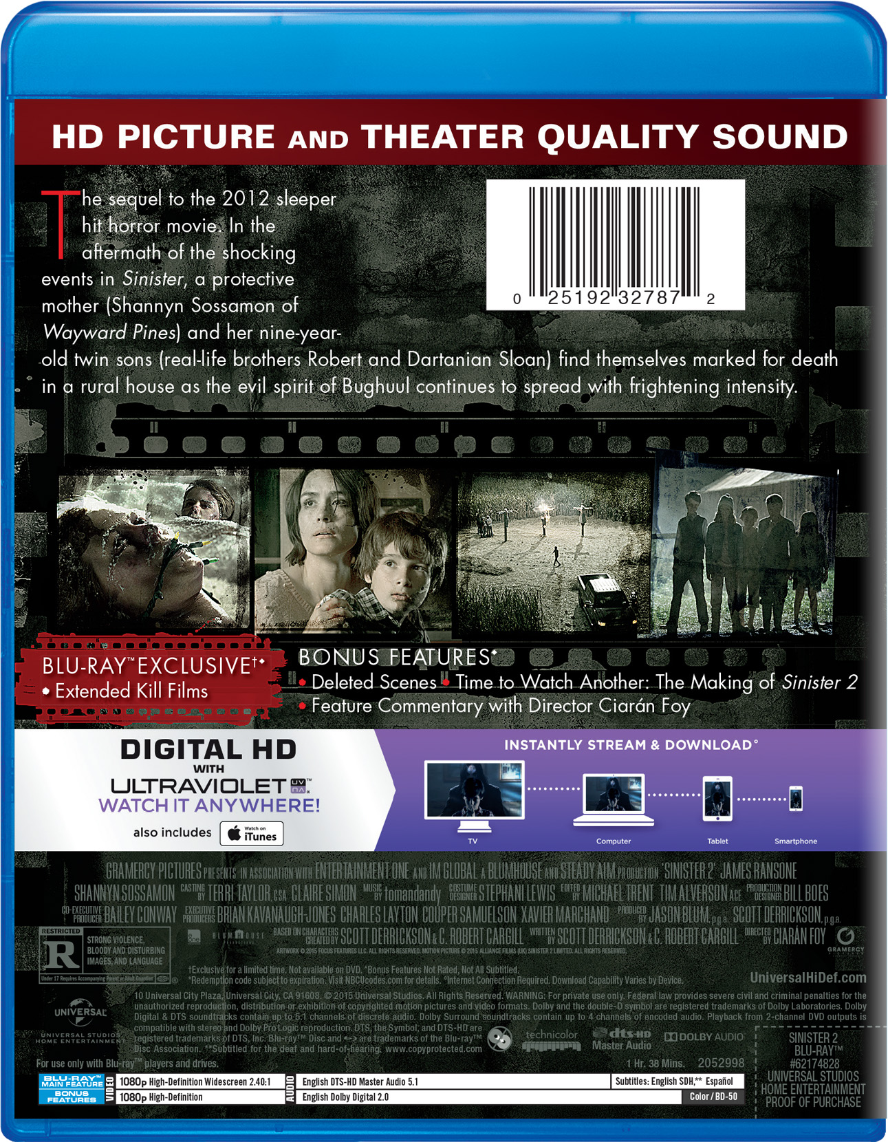 Sinister 2 | Movie Page | DVD, Blu-ray, Digital HD, On ...