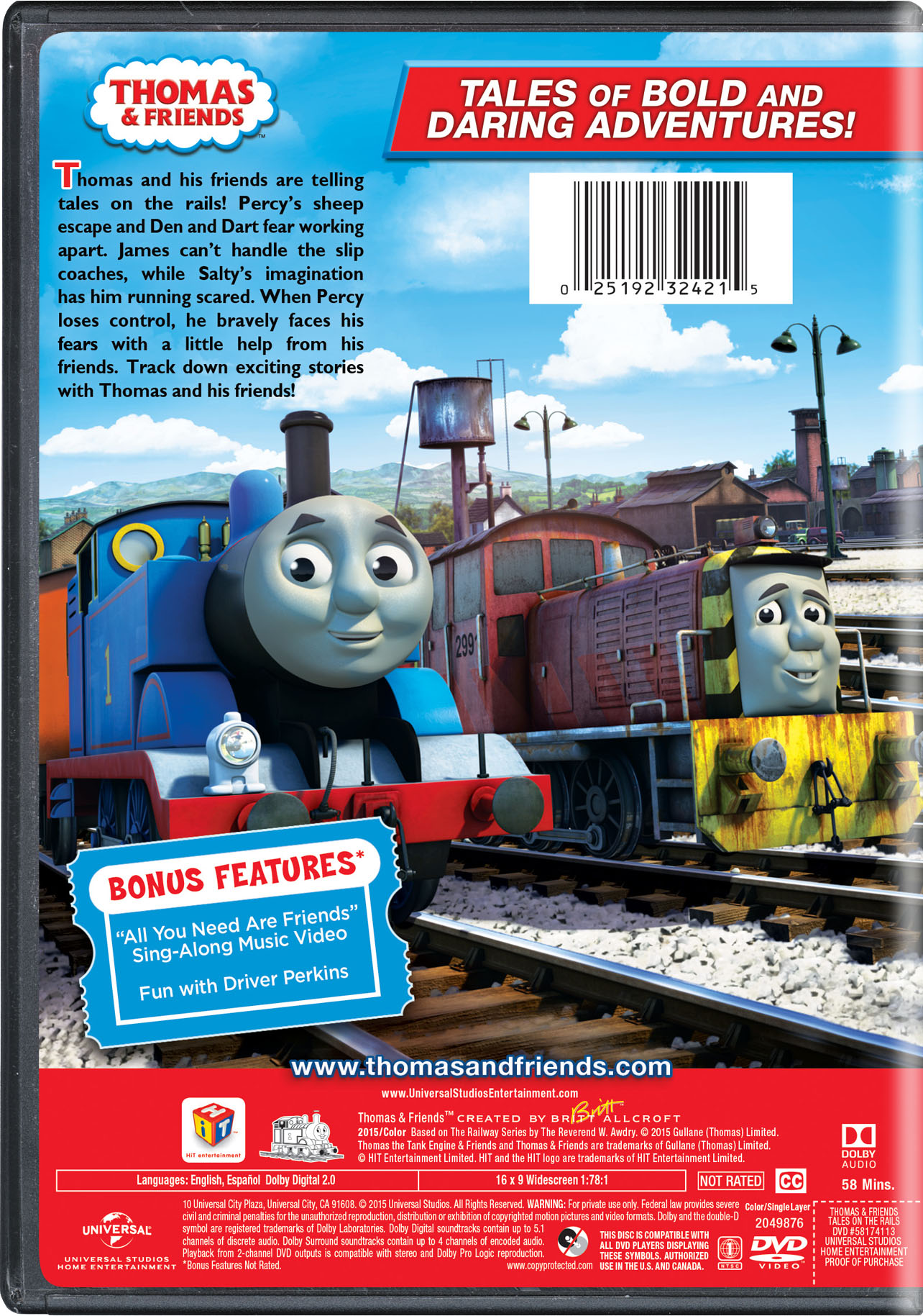 thomas amp friends tales on the rails movie page dvd