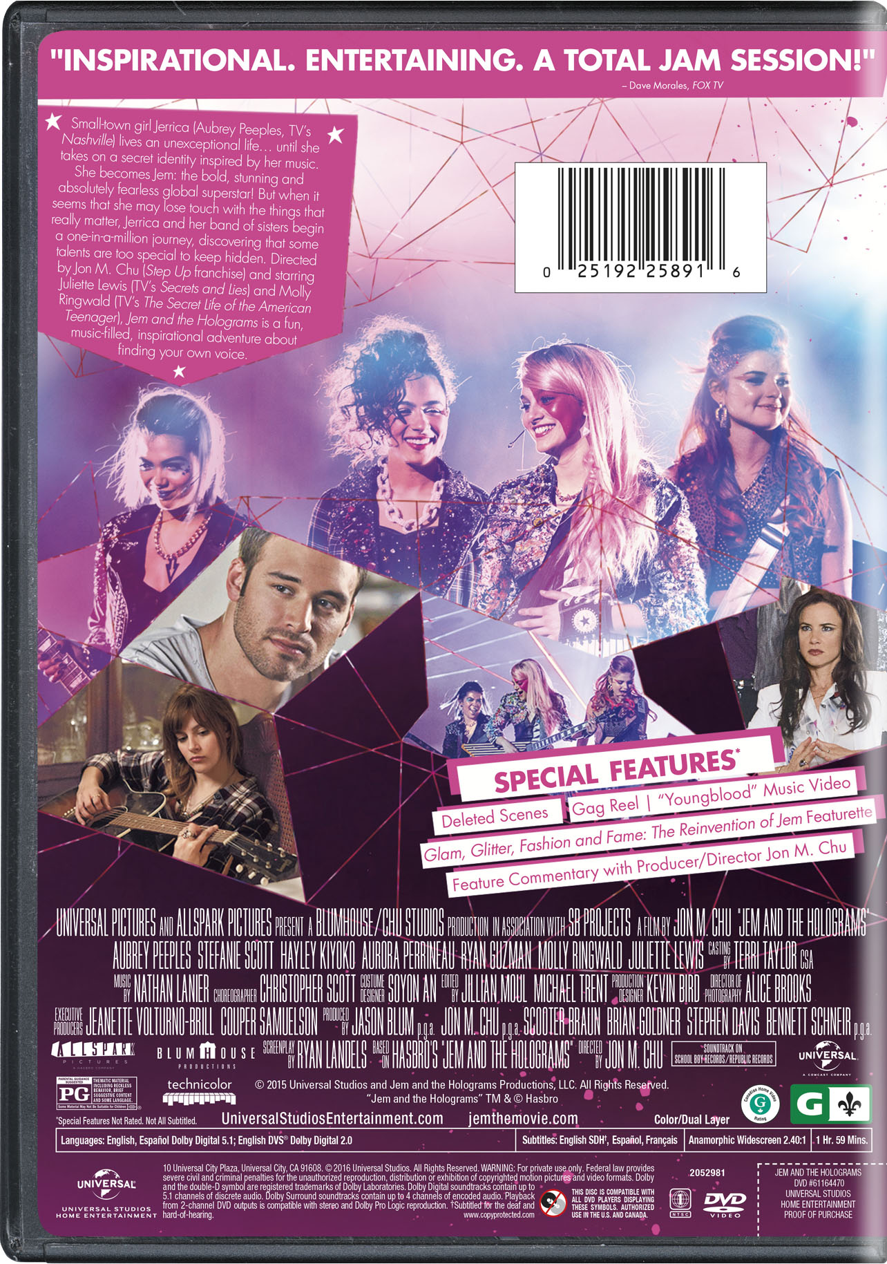 Jem and the Holograms | Movie Page | DVD, Blu-ray, Digital HD, On