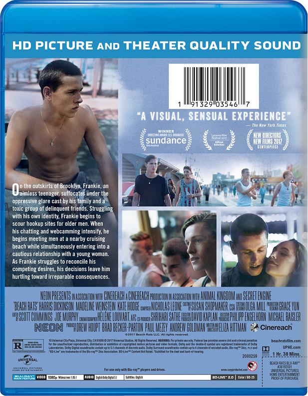 Beach Rats Movie Page Dvd Blu Ray Digital Hd On Demand