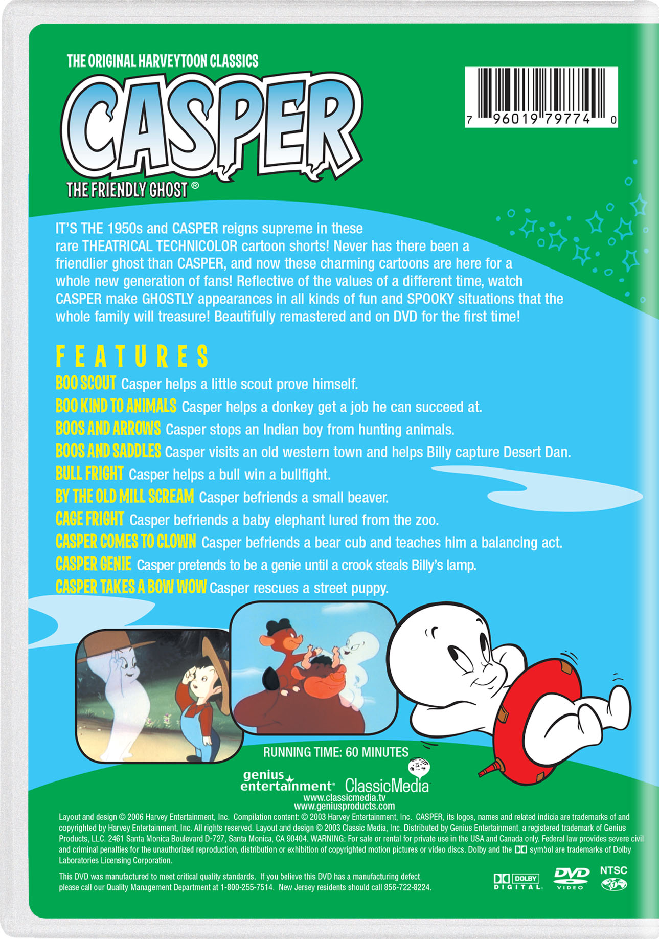 Casper the Friendly Ghost: By the Old Mill Scream | TV Show Page