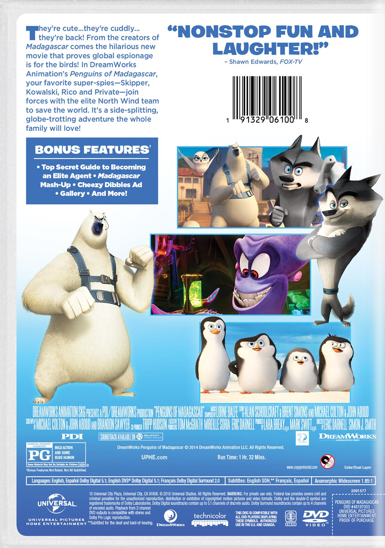 Penguins of Madagascar   Movie Page   DVD, Blu-ray, Digital