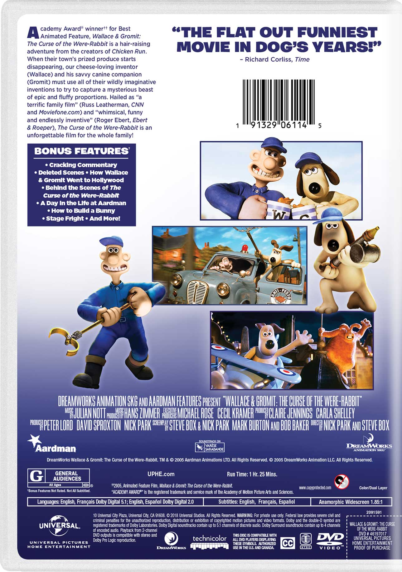 Wallace & Gromit: The Curse of the Were-Rabbit | Movie Page