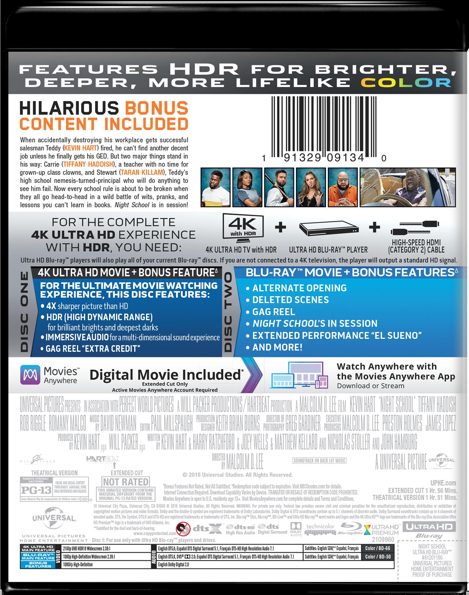Night School | Movie Page | DVD, Blu-ray, Digital HD, On