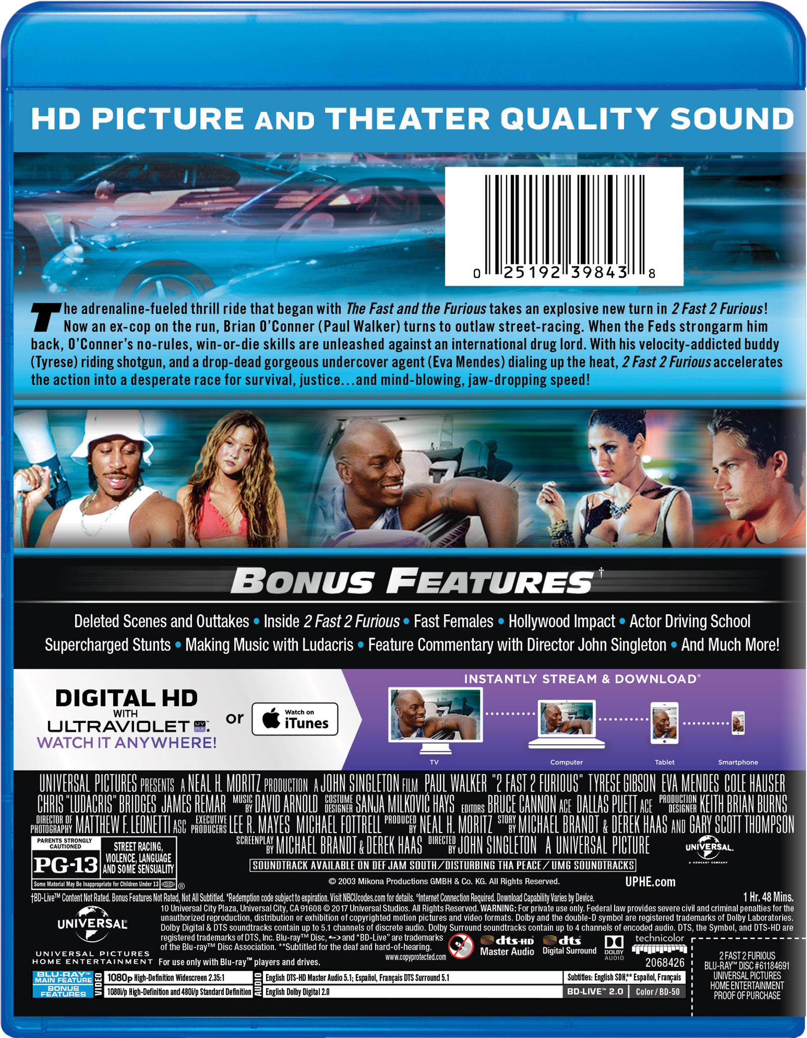 2 Fast 2 Furious | Movie Page | DVD, Blu-ray, Digital HD, On Demand