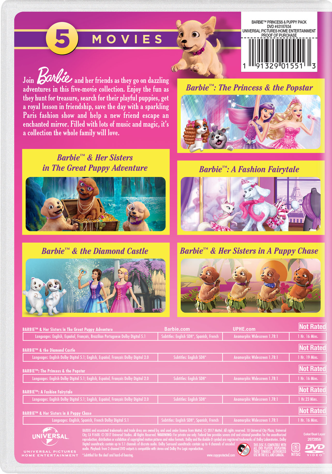 barbie princess and the diamond castle full movie in english