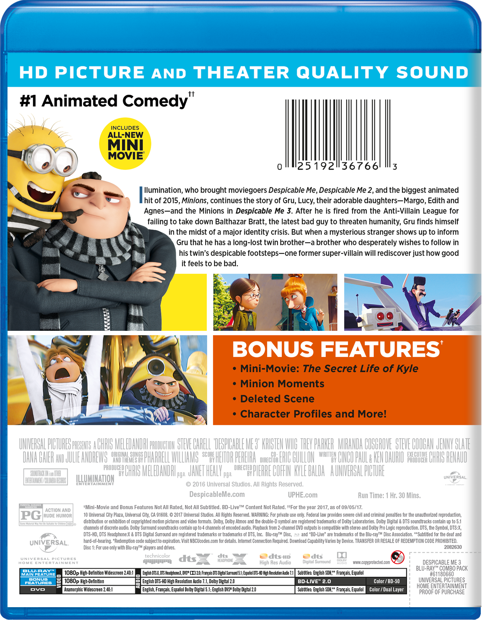 Despicable Me 3 | Movie Page | DVD, Blu-ray, Digital HD, On Demand