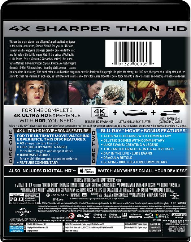 Dracula Untold | Movie Page | DVD, Blu-ray, Digital HD, On Demand