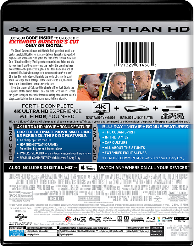 The Fate of the Furious | Movie Page | DVD, Blu-ray, Digital HD, On