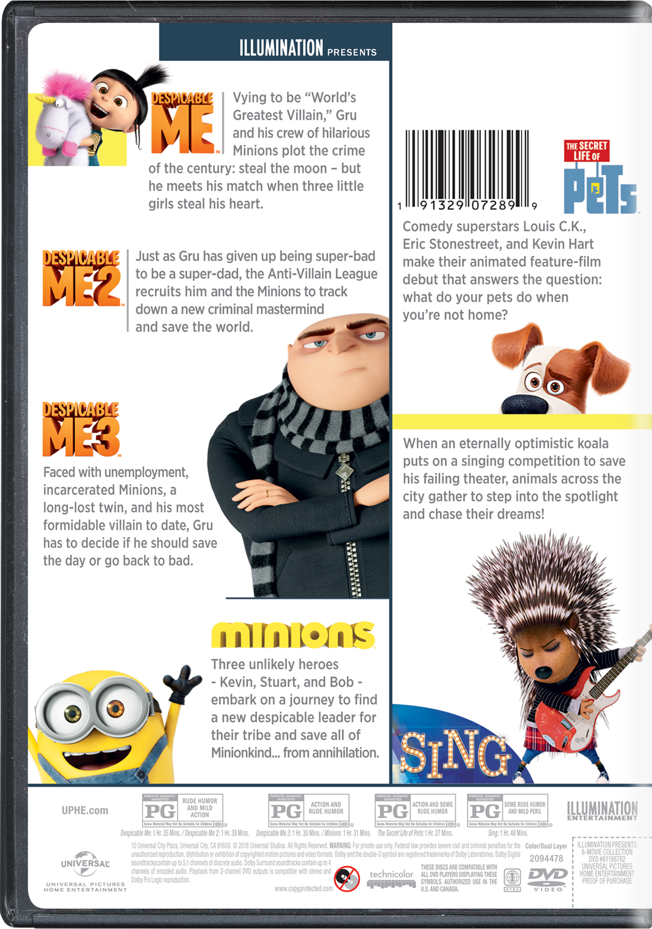 Despicable Me 3 | Movie Page | DVD, Blu-ray, Digital HD, On