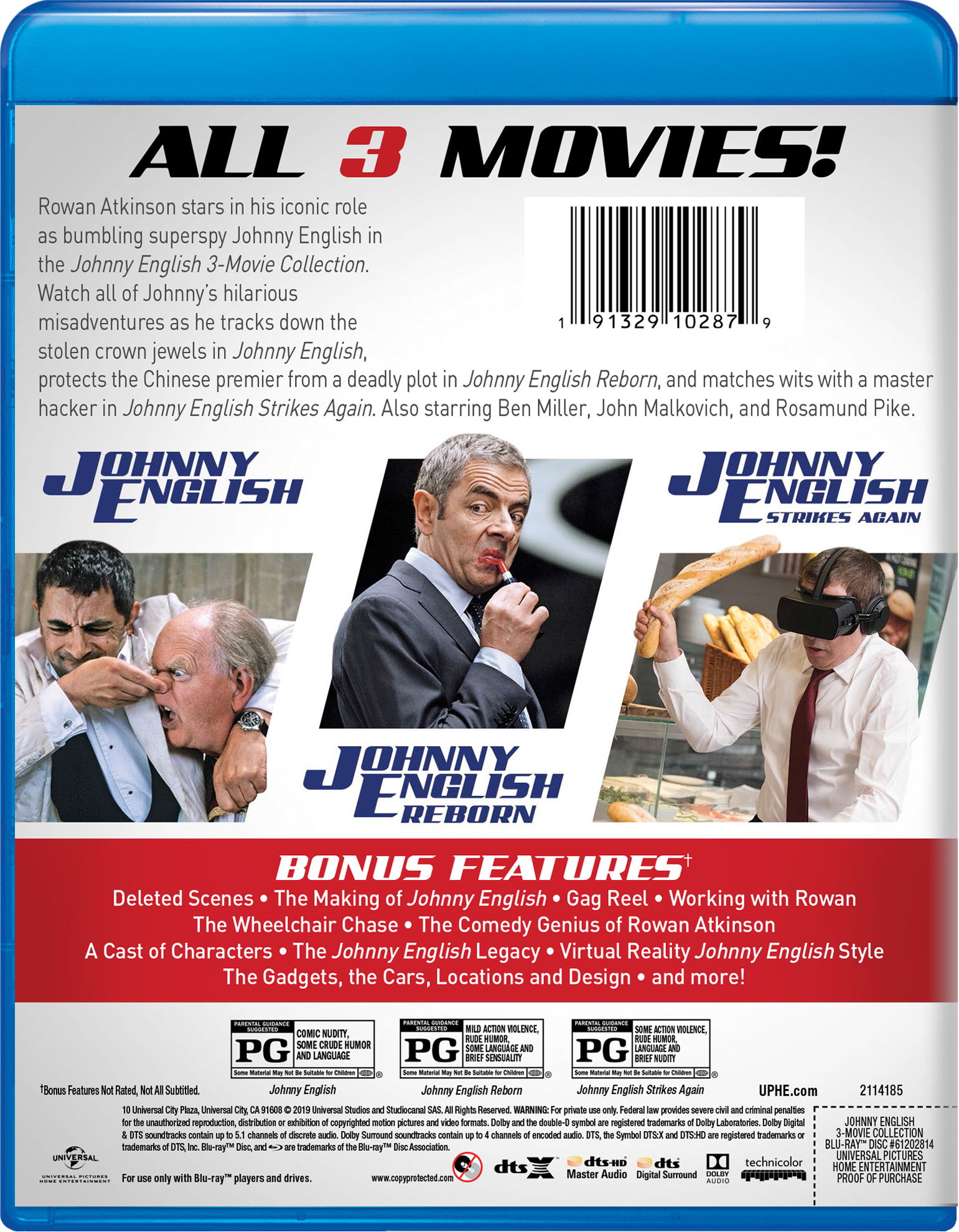 Johnny English Strikes Again | Movie Page | DVD, Blu-ray, Digital HD