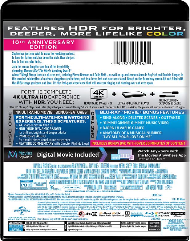 Mamma Mia! The Movie | Movie Page | DVD, Blu-ray, Digital HD