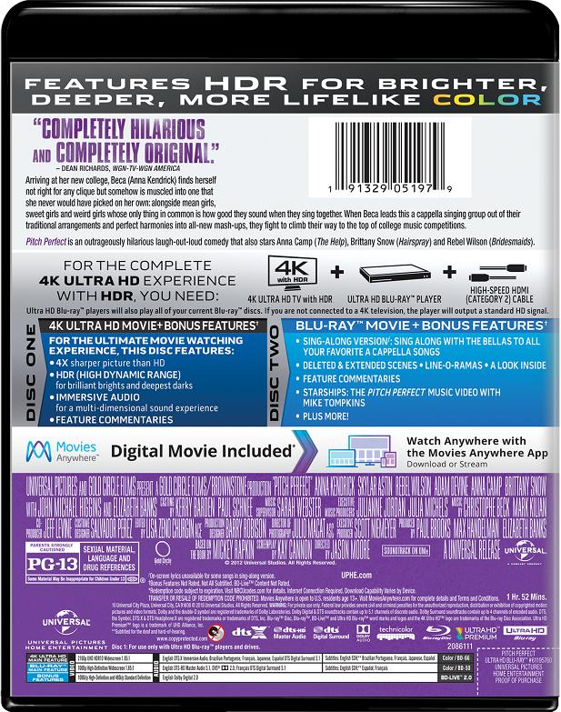 Pitch Perfect   Movie Page   DVD, Blu-ray, Digital HD, On