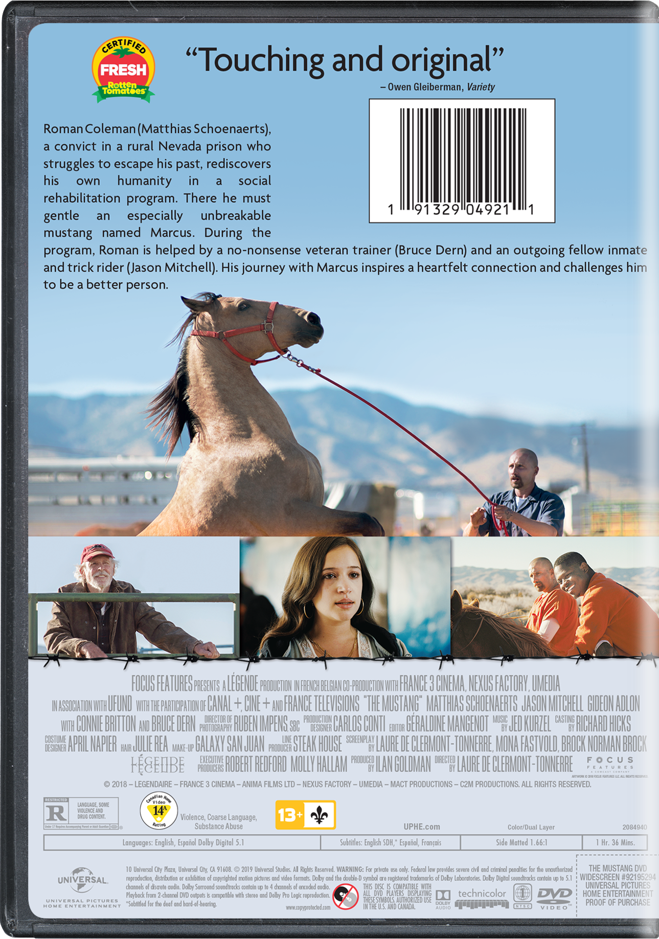 The Mustang | Movie Page | DVD, Blu-ray, Digital HD, On