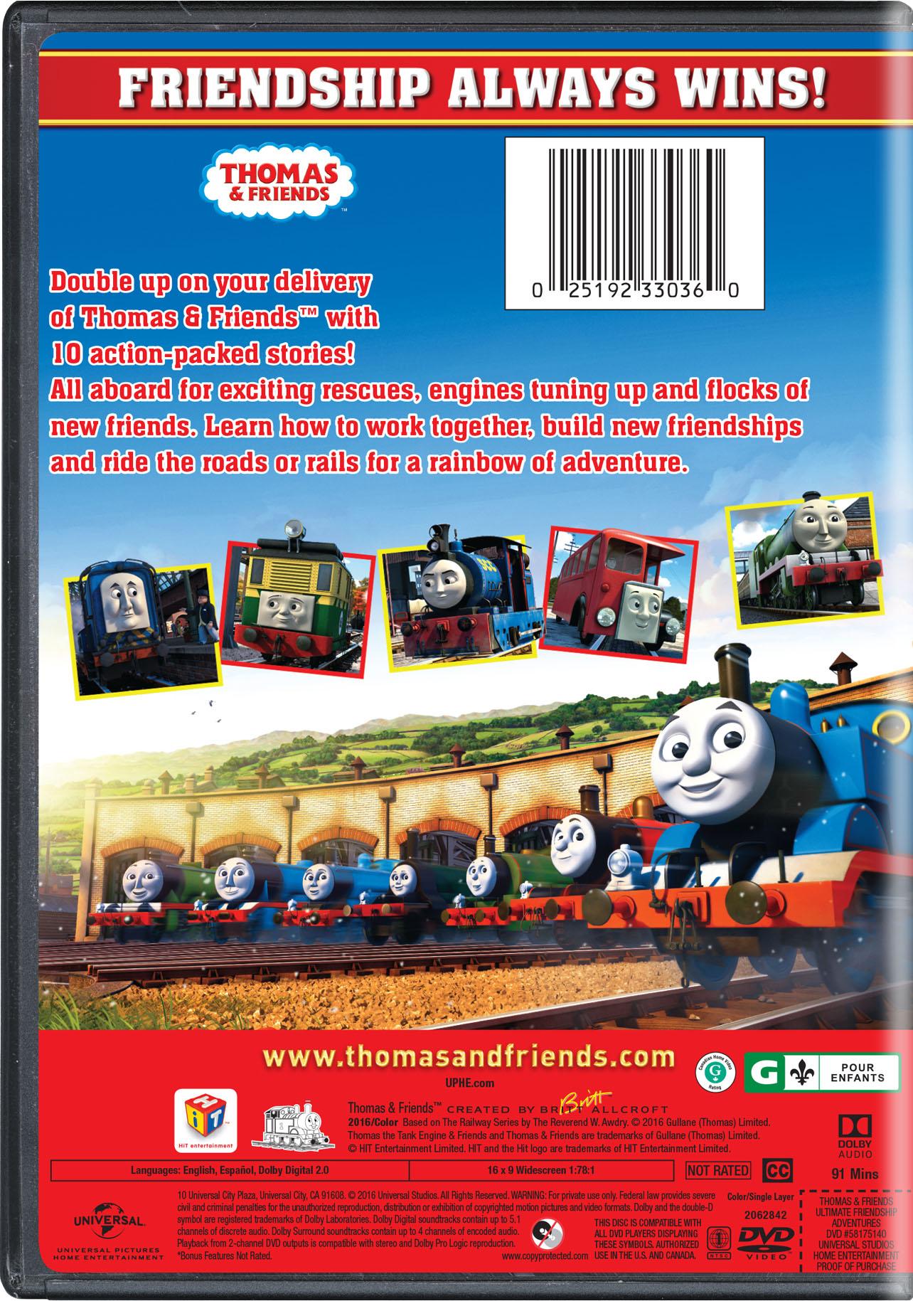 Thomas Amp Friends Ultimate Friendship Adventures Movie