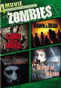 4 Movie Midnight Marathon Pack Zombies