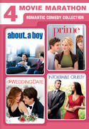 4 Movie Marathon Romantic Comedy Collection