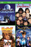 Four Feature Films Casper The Little Rascars Harry Hendersons Nanny McPhee