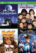 Four Feature Films Casper The Little Rascars Harry Hendersons Nanny McPhee