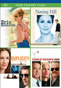 Erin Brockovich / Notting Hill / Duplicity / Charlie Wilson's War Four Feature Films