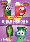 VeggieTales: Bible Heroes - 4-Movie Collection (Moe and the Big Exit / The Ballad of Little Joe / Esther: The Girl Who Became Queen / Dave and the Giant Pickle