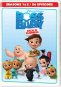 The Boss Baby: Back in Business Seasons 1 & 2 DVD