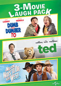Dumb and Dumber To / Ted / A Million Ways to Die in the West 3-Movie Laugh Pack