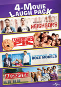 Neighbors / American Pie / Role Models / Accepted 4-Movie Laugh Pack