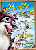 Balto 3-Movie Family Fun Pack