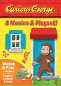 Curious George: 3 Movies & Playset