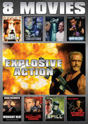 Explosive Action 8-Movie Collection (Spill / Collectors / Ultimate Weapon / High Voltage / Midnight Heat / Bull Fighter / Coyote Run / Musketeers Forever)