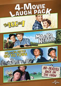 4-Movie Laugh Pack: The Egg and I / Ma & Pa Kettle / Ma and Pa Kettle Go to Town / Ma and Pa Kettle Back on the Farm