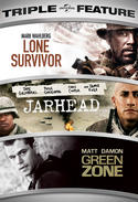 Lone Survivor / Jarhead / Green Zone Triple Feature