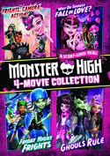 Monster High: 4-Movie Collection