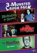 3-Munster Laugh Pack: Munster, Go Home! / The Munsters' Revenge / The Munsters: Family Portrait