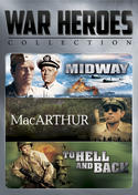 War Heroes Collection (Midway / MacArthur / To Hell and Back)