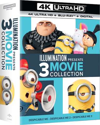 Illumination Presents: 3-Movie Collection (Despicable Me / Despicable Me 2 / Despicable Me 3)