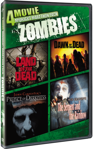 4 Movie Midnight Marathon Pack Zombies