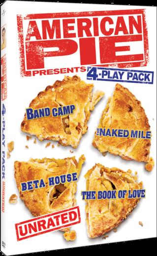 American Pie Presents 4-Play Pack