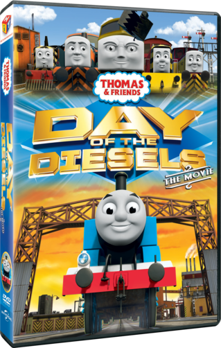 Thomas & Friends: Day of the Diesels The Movie