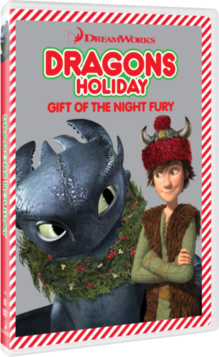 Dragons Holiday: Gift of the Night Fury
