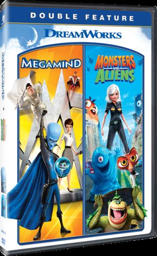 Megamind/Monsters vs. Aliens Double Feature