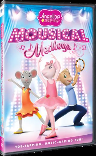 Angelina Ballerina: Mousical Medleys