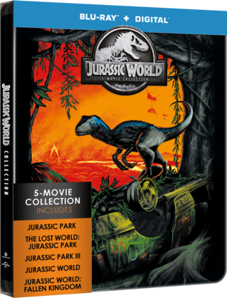 Jurassic World: 5-Movie Collection
