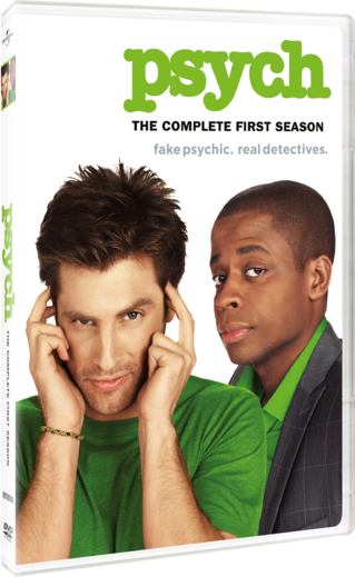 Psych: The Complete First Season