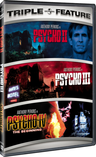 Psycho II / Psycho III / Psycho IV: The Beginning Triple Feature